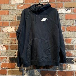 black nike hoodie sweatshirt
